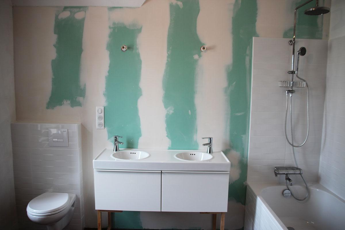 Transformer une chambre en salle de bain - Breizh salle de bain